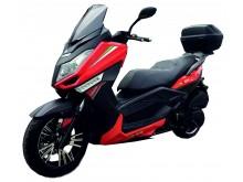 New Maximus 125 oranžová/černá- EURO 3