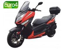 New Maximus II -125 oranžová/černá- EURO 4