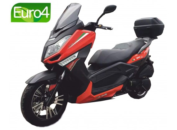 New Maximus 125 oranžová/černá- EURO 4