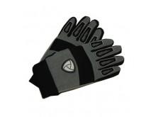 Motocyklové rukavice textilní šedé velikost L