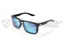 sluneční brýle RENSHAW, 100% (zabarvená modrá skla)