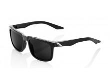 sluneční brýle BLAKE černé, 100% (šedá polarizační sklo)