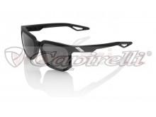 sluneční brýle CENTRIC Soft Tact Black, 100% (zabarvená šedá skla)