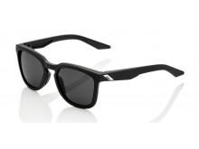 sluneční brýle HUDSON Soft Tact Black, 100% (zabarvená kouřová skla)