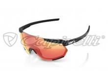 sluneční brýle RACETRAP, 100% (zabarvená červená skla)