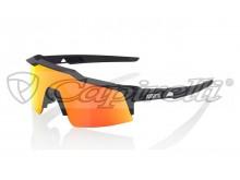 sluneční brýle SPEEDCRAFT SL, 100% (zabarvená červená skla)