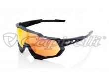 sluneční brýle SPEEDTRAP, 100% (zabarvená červená skla)