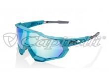 sluneční brýle SPEEDTRAP Peter Sagan, 100% (zabarvená modrá skla)